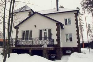 Дом, построенный из кирпича (12х14) с подвалом