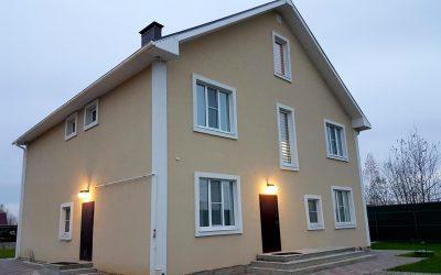 Строительство домов из пеноблоков под ключ.