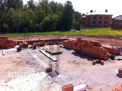 Завершено бетонирование фундаментной плиты