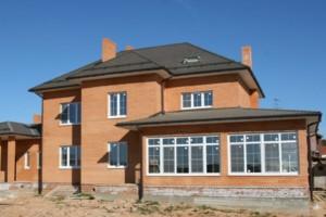 Дом кирпичный с облицовкой Голицинским кирпичем