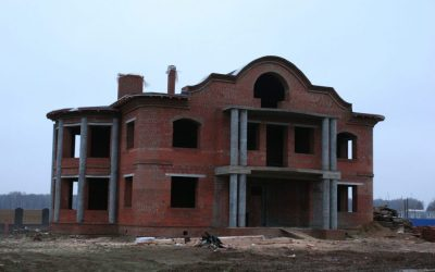 Кирпичный дом в КП Гринфилд с колоннами