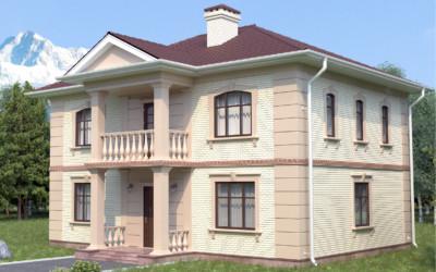 Строительство дома S-215-1K