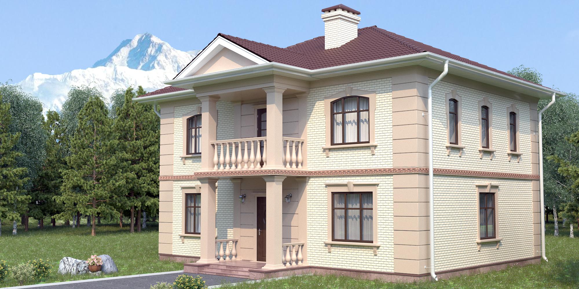 Строительство дома S-217-1P