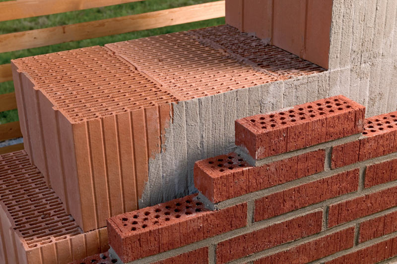 Керамический блок с облицовкой
