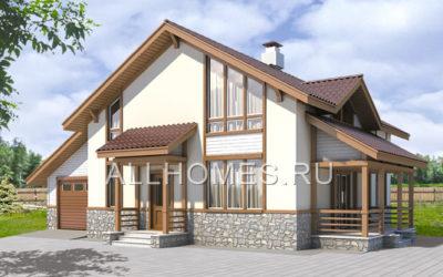 Фасад дома k-204-1p