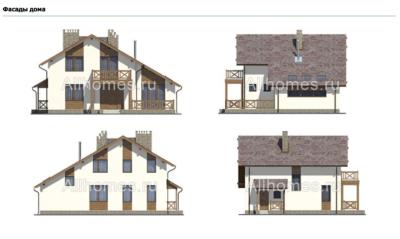 Фасады дома l-209-1p