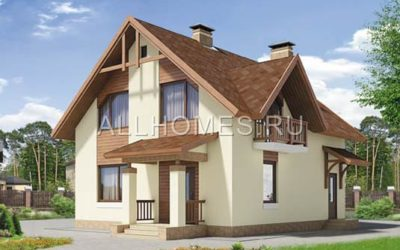 Фасад дома i-119-1p