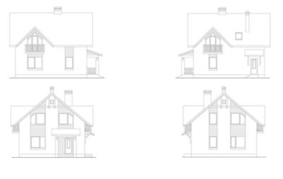 Фасады дома i-119-1p