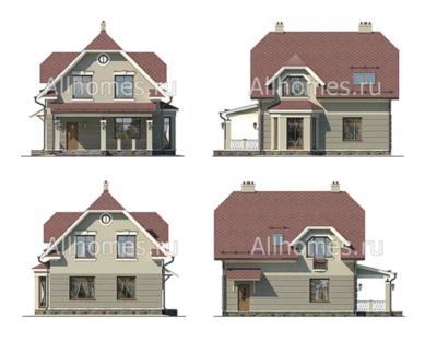 Фасады домаj-140-1p